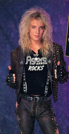 Photo of Jani for fans of Jani Lane 29043354 80s Hairstyles Male, Rock Hairstyles, Big Hair Bands, Hair Metal Bands, Jani Lane, Bret Michaels Band, 80s Hair Metal, Rock Hits, High Hair