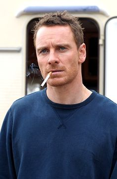 """Michael Fassbender as Chad Cutler in """"Trespass Against Us"""" (2016)"""