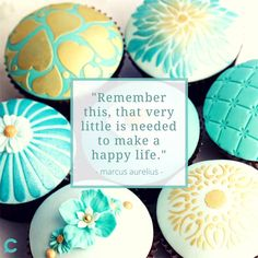 Material items won't make you happy National Cupcake Day, Marketing Colors, Peer Pressure, Happy Life, Are You Happy, Inspirational Quotes, Plates, Make It Yourself, How To Make