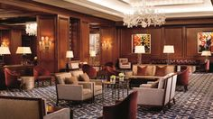 The Ritz-Carlton has finished renovations to its ballroom and meeting space.  The ballroom's furnishings and décor have been updated, and the existing crystal chandeliers and molding have been maintained to retain the space's traditional elegance. A custom carpet inspired by cherry blossoms decorates the floor. Metal wall sconces with vintage finishes adorn the walls.  #BizTravel #RitzCarlton #Ballrooms #Hotel #HotelNews #Hospitality