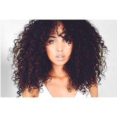 Curly Hair. | pinterest: @ omgxnai ♔