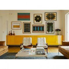 Cabinet yellow