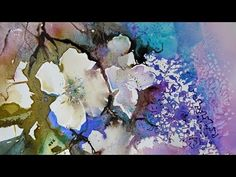 Experimental Flowers in Watercolour DVD with Ann Blockley - YouTube