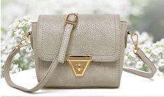 Stylish Leather Adjustable Shoulder Handbag