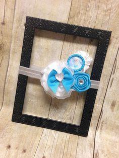 Frozen Headband Elsa Bottlecap Flower Headband by TwoSewinCute