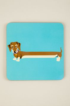Sammy Sausage Dog Coaster