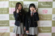 15& attend Hanlim Performing Arts High School's orientation ceremony together