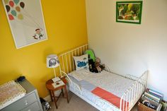 Little Boy's Bedroom yellow