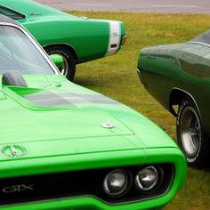 Shrek's green cars ?