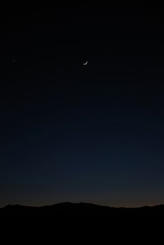 Rocky Mountain moonrise near Red Feather Lakes, Colorado.
