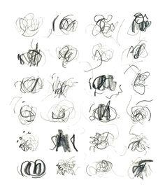 hilo negro -dibujo e ilustración-  Garabatos