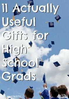 11 Graduation Gift Ideas They'll Love #graduation #gift #ideas