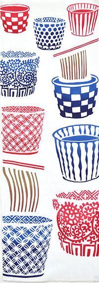 Love the patterns on the pots!