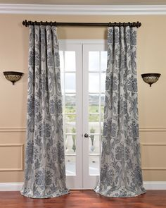 Silver Curtains for Bedroom - Vintage Bedroom Decorating Ideas Check more at http://grobyk.com/silver-curtains-for-bedroom/