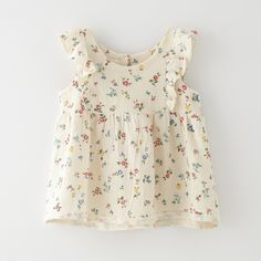 Boy+Girl Jules Flutter Tunic | Kids | Steven Alan - looks like The Cheesecloth Blouse