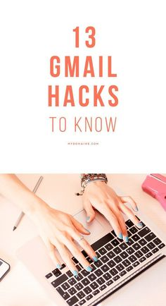 Everyone should know these helpful email tricks, they might just save you extra work hacks computers 13 Gmail Hacks That'll INSTANTLY Maximize Your Productivity Social Marketing, Marketing Mail, Affiliate Marketing, Evernote, Apps, Business Tips, Online Business, Creative Business, Web Business