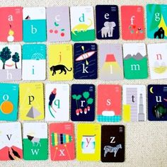 ABC Bilingual Flashcards by Deuz - Handy for us French/English Families!