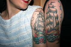 ocean party (pirate tattoos)