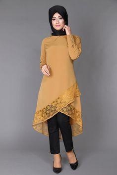 Tesettür Tunik - İndirimli Tunikler - Women's style: Patterns of sustainability Pakistani Fashion Casual, Pakistani Dress Design, Stylish Dresses, Cute Dresses, African Fashion Dresses, Fashion Outfits, Muslim Women Fashion, Sleeves Designs For Dresses, Baby Dress Patterns