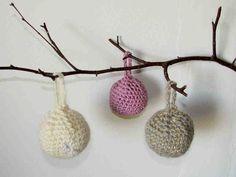 Joulukuusenkoristeet virkaten Crochet Earrings, Sewing, Knitting, Diy, Knits, Jewelry, Dressmaking, Jewlery, Couture