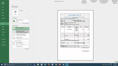 Microsoft Excel 2016 Tutorial | Print Active Multiple Worksheets