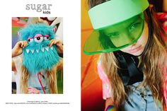 Laura de Sugar Kids para La Petite Magazine