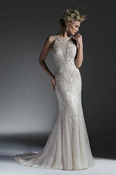 Wedding gown by Sottero & Midgley