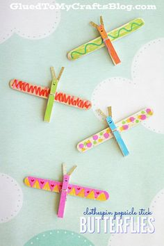 Clothespin Popsicle