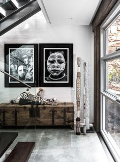 #Tribal art work at its best! Find #black & #white photographs from all over the world on Juniqe.com | Art. Everywhere. http://bit.ly/1SI6DRD #gallerywall #interior