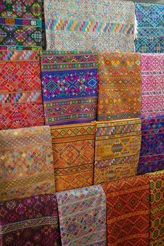 assorted fabrics The Weaving Women of Bhutan HandEye Magazine