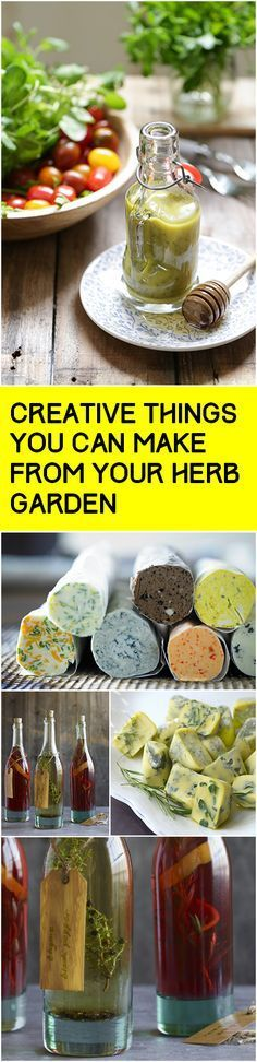Cooking with the herbs you grow.