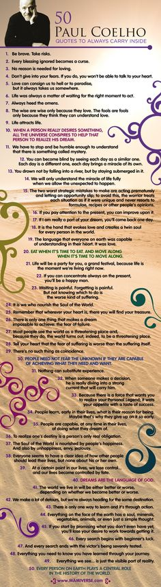 50 Paulo Coelho Quotes to Always Carry Inside - Mamiverse