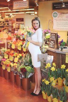 cutest pregnant woman ever.