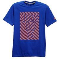 Nike Graphic T-Shirt - Men's - Blue / Orange