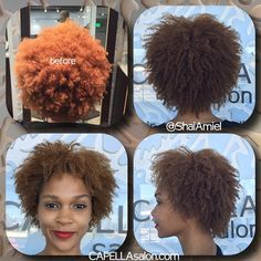 the proper cut and hydration treatment to get more curl definition