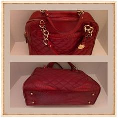 Spotted While Ping On Poshmark Authentic Rare Red Brahmin Purse
