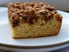 Grain-Free White Bean Coffee Cake Recipe, adapted from The Spunky Coconut.