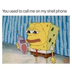 #instajokes #shellphone #drake #hotlinebling #spongebob  - dsingh905 via Instagram on Oct 31, 2015