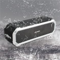 ARCHEER Wireless Bluetooth 4.0 Waterproof Outdoor Speaker For iPhone 6 6S Plus Galaxy S5. ARCHEER Wireless Bluetooth 4.0 Waterproof Outdoor Speaker For iPhone 6 6S Plus Galaxy S5 S6 Edge Note 5     	Feature:  	All-Weather Adaptability-IP64 Dust-proof & Splash-proof design protecting against splashing water & dust. Great for pool side, playground, camping, climbing, hiking, bicycle, and more outdoor activities.  	   	Full& High-Def Sound - Enjoy an impressively crystal clear sound quality and…