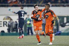 @Lorient Benjamin Jeannot et Jordan Ayew #9ine