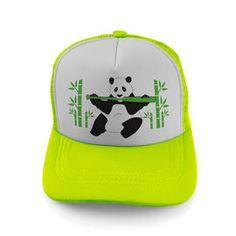 Softball Trucker Hat Softball Panda