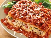 Easy Pastas Lasagna with Meat Sauce Classic Italian Dishes, Chef's Choice, Meat Sauce, Fresh Fruits And Vegetables, Food Menu, No Cook Meals, Food Hacks, Lasagna, Meal Planning
