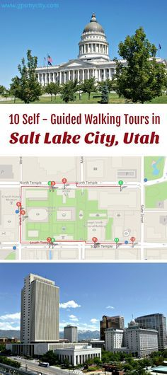 Follow these 10 expert designed self-guided walking tours in Salt Lake City, Utah to explore the city on foot at your own pace. Each walk comes with a detailed tour map and together they are the perfect Houston city guide for your trip.