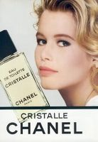 Chanel introduced the Cristalle fragrance as an Eau de Toilette in 1974. It was developed by perfumer Henri Robert. It was (and is, if you can get your hands on the Eau de Toilette) light, crisp, and sparkling, just a little veil of lemon, fresh herbs and oakmoss with lots of green and a few flower petals thrown in for good measure (other notes include bergamot, jonquil, jasmine, honeysuckle, rosewood, hyacinth and vetiver).