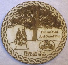 Fire, Well, and Tree Altar Tile