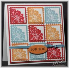CCMC152 Fabulous Florets by stampercamper - Cards and Paper Crafts at Splitcoaststampers