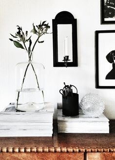 Hard black on bold white. Love.