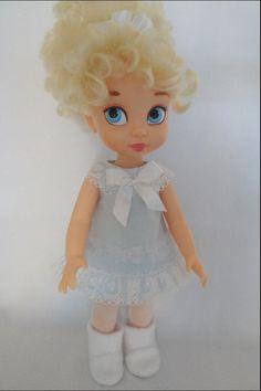 The lace trims make it! Disney Baby Dolls, Disney Princess Dolls, Baby Disney, Felt Dolls, Crochet Dolls, Girl Doll Clothes, Girl Dolls, Aladdin, Disney Animators Collection Dolls