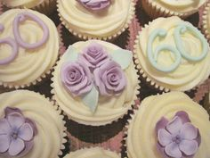 Adult Birthday Cupcakes These Specially Design For 60th