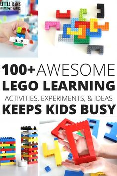 LEGO learning Ideas and Activities for Learning with LEGO book